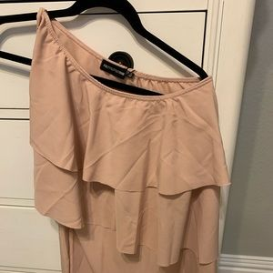 PRETTYLITTLETHING one shoulder dress